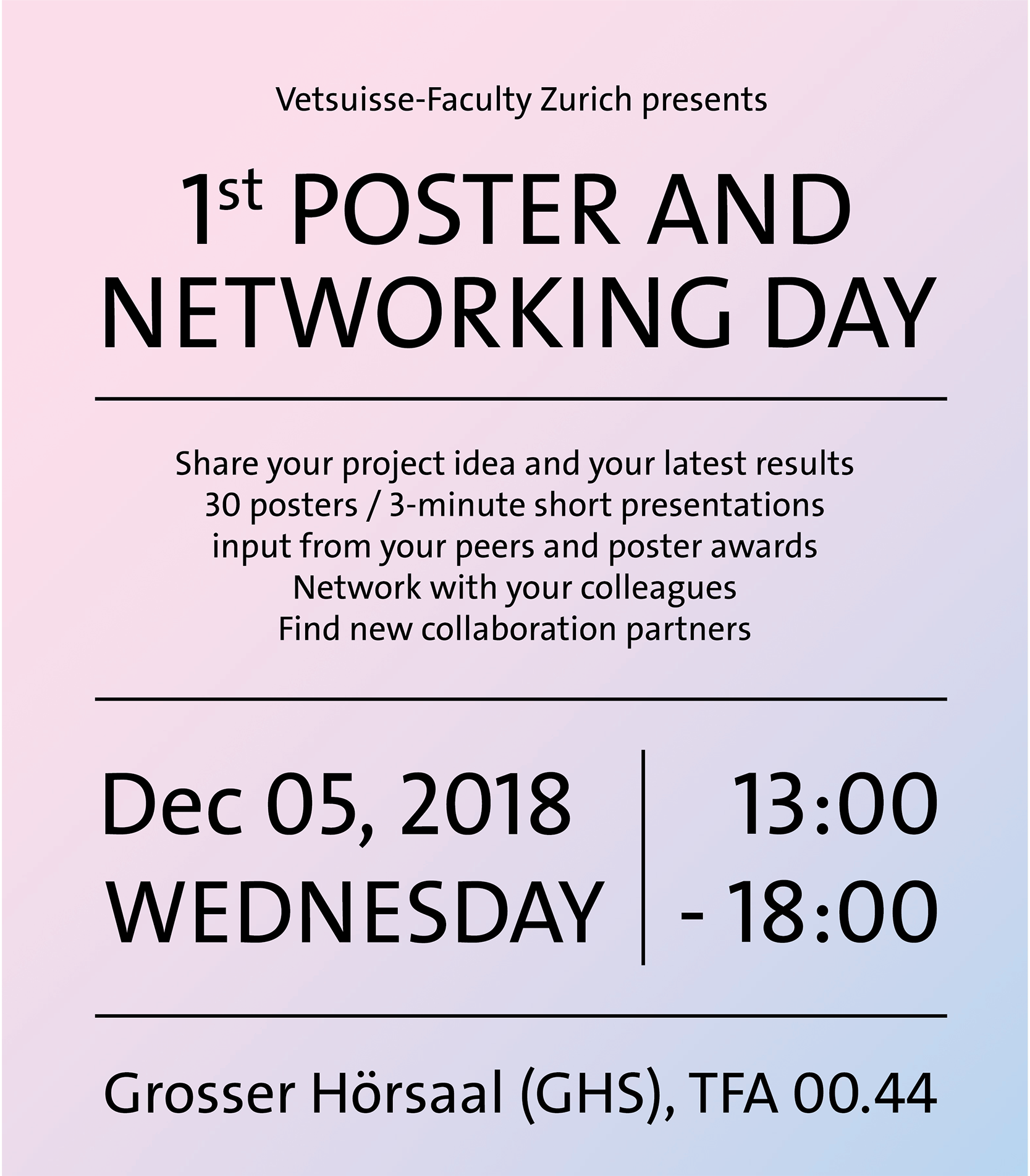 Poster and Networking Day